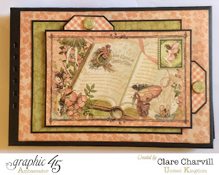 Once Upon a Springtime  Scrap Book Clare Charvill Graphic 45