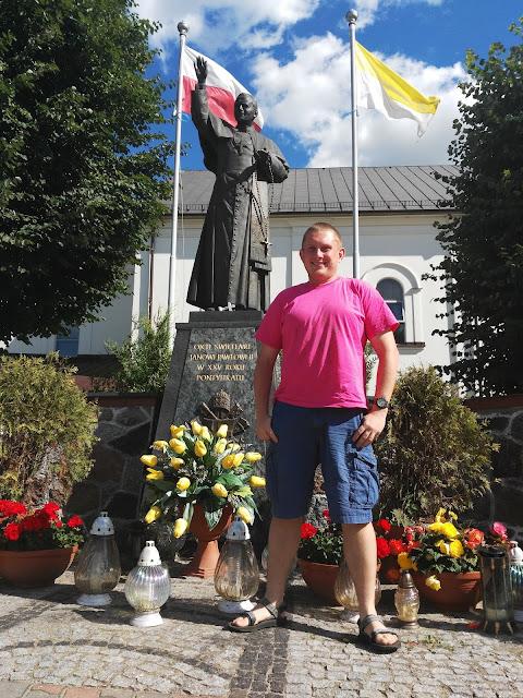 Pomniki Jana Pawła II - Brańsk