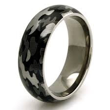 Outdoorsman Wedding Band