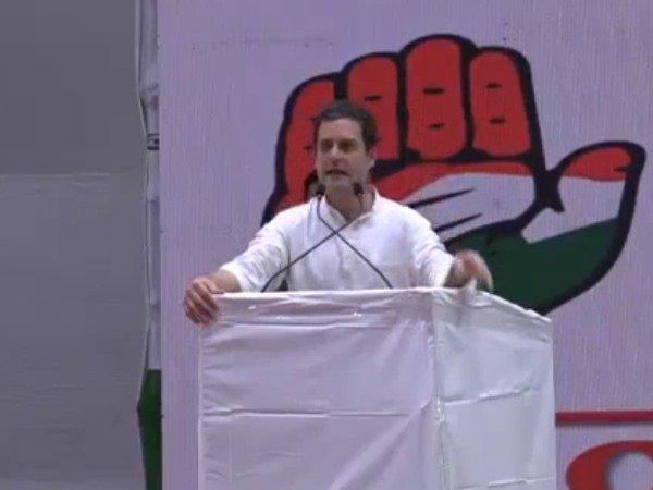 राहुल का अमित शाह पर बड़ा वार,कहा 'एक हत्या का आरोपी देश के रास्ट्रीय पार्टी का अध्यक्ष है '