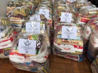 Fundo Social de Solidariedade entrega cestas básicas para famílias carentes de Juquiá