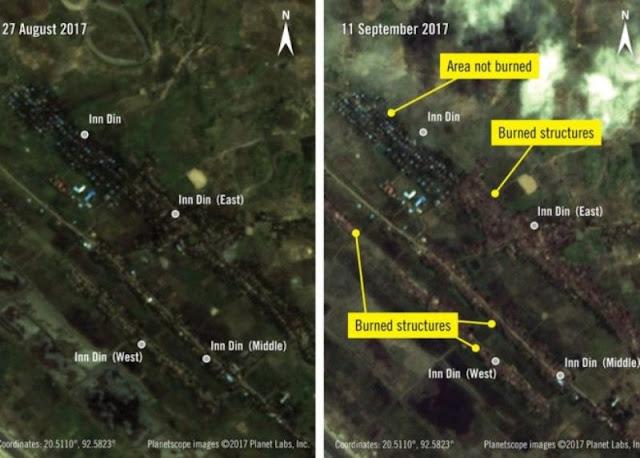 Amnesty Internasional Tunjukkan Pasukan Myanmar Sengaja Singkirkan Etnis Rohingya, Desa-desa Dibakar
