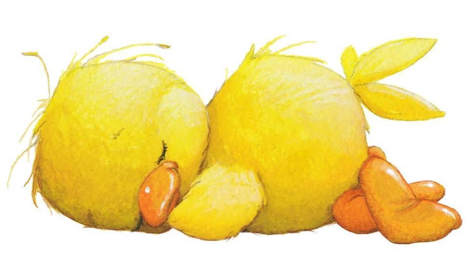 Dibujo De Un Bebe A Color: Dibujos A Color ♥: Patos Tiernos