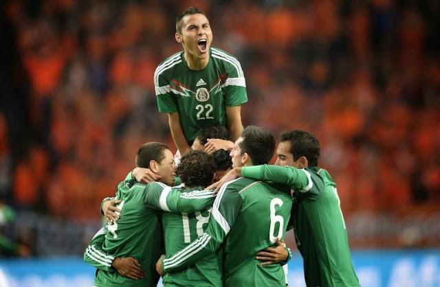 Il Messico batte l'Olanda 2-3