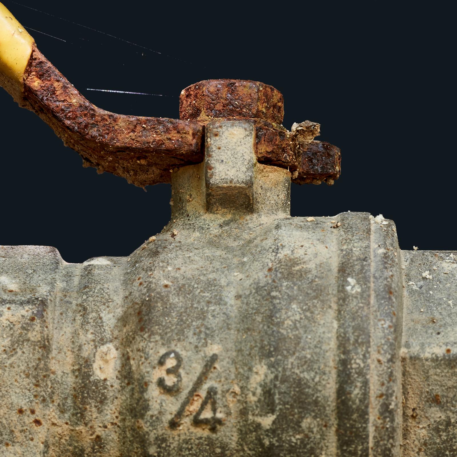 flow control valve,rusted,garden swtudio, Philippines