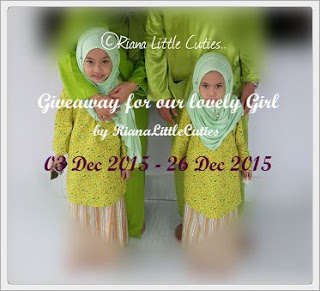 Giveaway for Our Lovely Girl by RianaLittleCuties