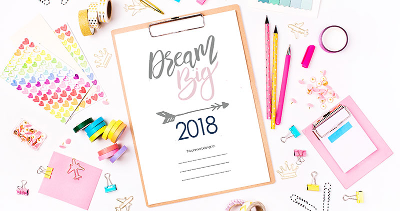 Organize Your Mom Life with a Printable Planner for 2018