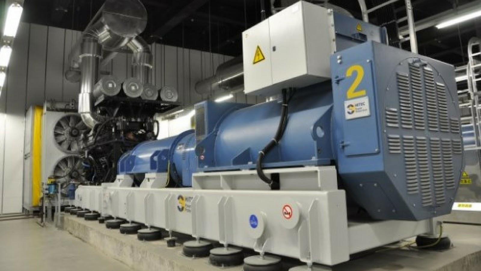 generador de gran proporción