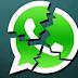 """WhatsApp has broken 2016 Happy New Year Rocks """"My WhatsApp"""""""