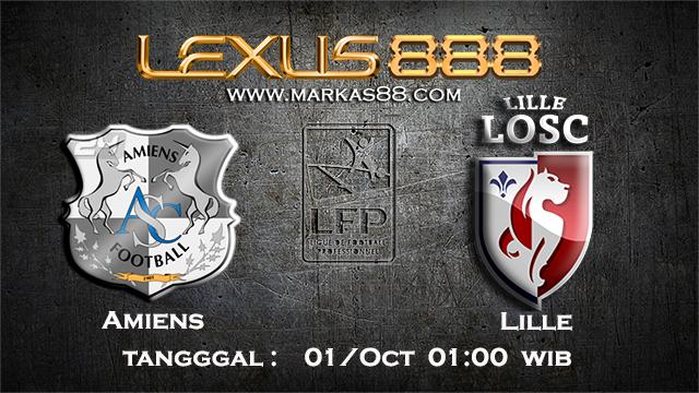 PREDIKSIBOLA - PREDIKSI TARUHAN BOLA AMIENS VS LILLE 1 OCTOBER 2017 (LIGUE 1)