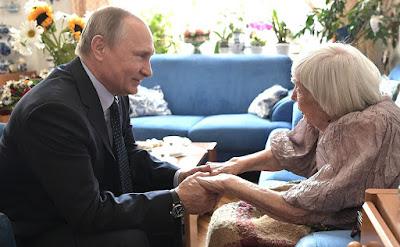 VladimirPutinand Lyudmila Alexeyeva.