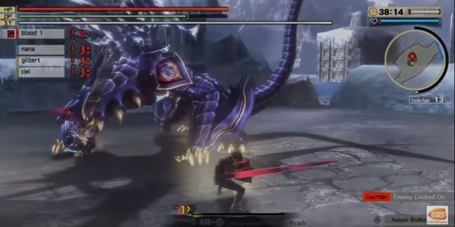 God Eater 2: Rage Burst Free Download