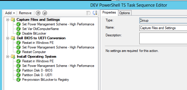 SCCM AD PowerShell Everything: SCCM TS with PowerShell