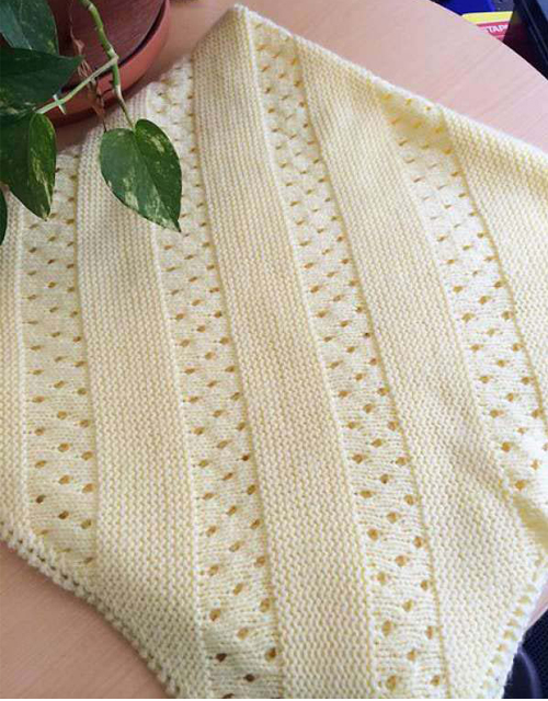 Treasured Heirloom Baby Blanket - Free Pattern