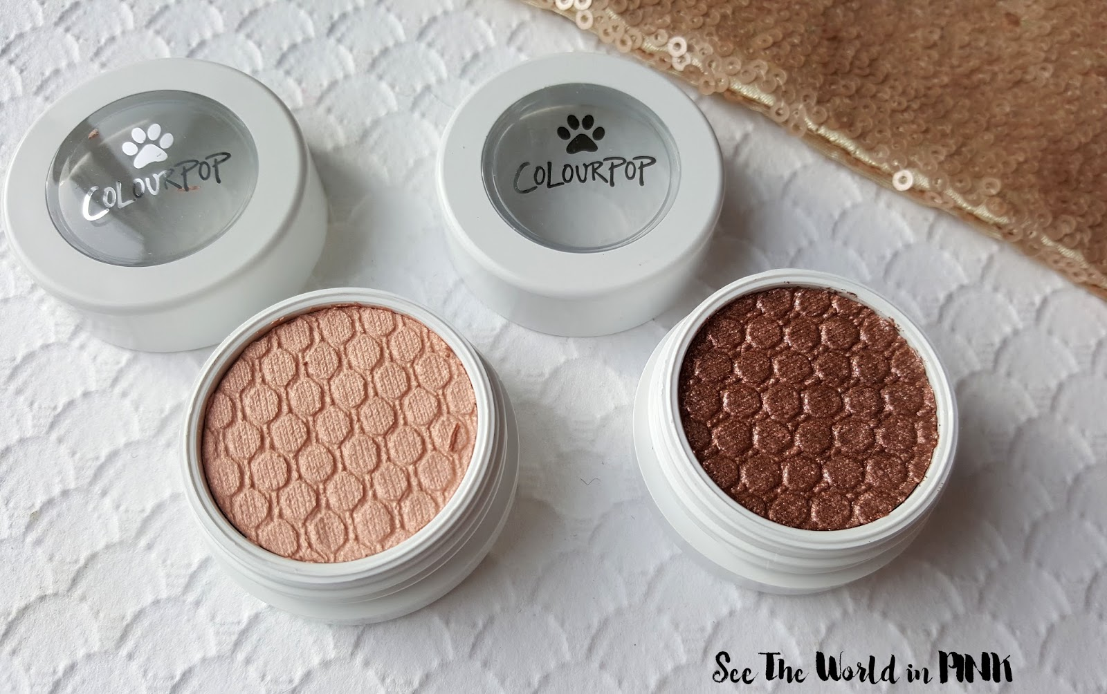 ColourPop Cosmetics - Last Call for Cat Nap and Puppy Love Super Shock Eyeshadows!