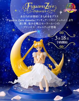 Sailor Moon - Princess Serenity Figuarts Zero della Bandai