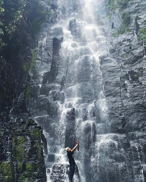 Air Terjun Ciupang di kabupaten pesawaran
