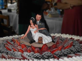 orma magiche cake topper statuette personalizzate sposini torta nuziale pupazzini