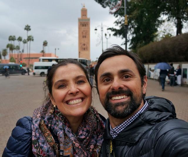 Torre Koutoubia, um dos símbolos de Marrakesh