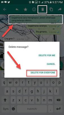 Menghapus pesan ialah sebuah hal yang masuk akal di lakukan ketika kita salah mengetik atau mu Cara Terbaru Hapus Pesan WhatsApp (WA) Meski Sudah Terlewat 7 Menit