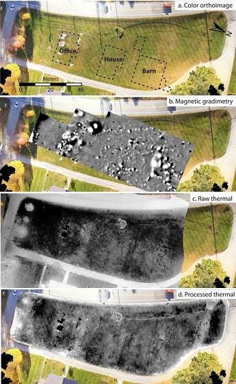 Comment la thermographie aérienne révolutionne l'archéologie