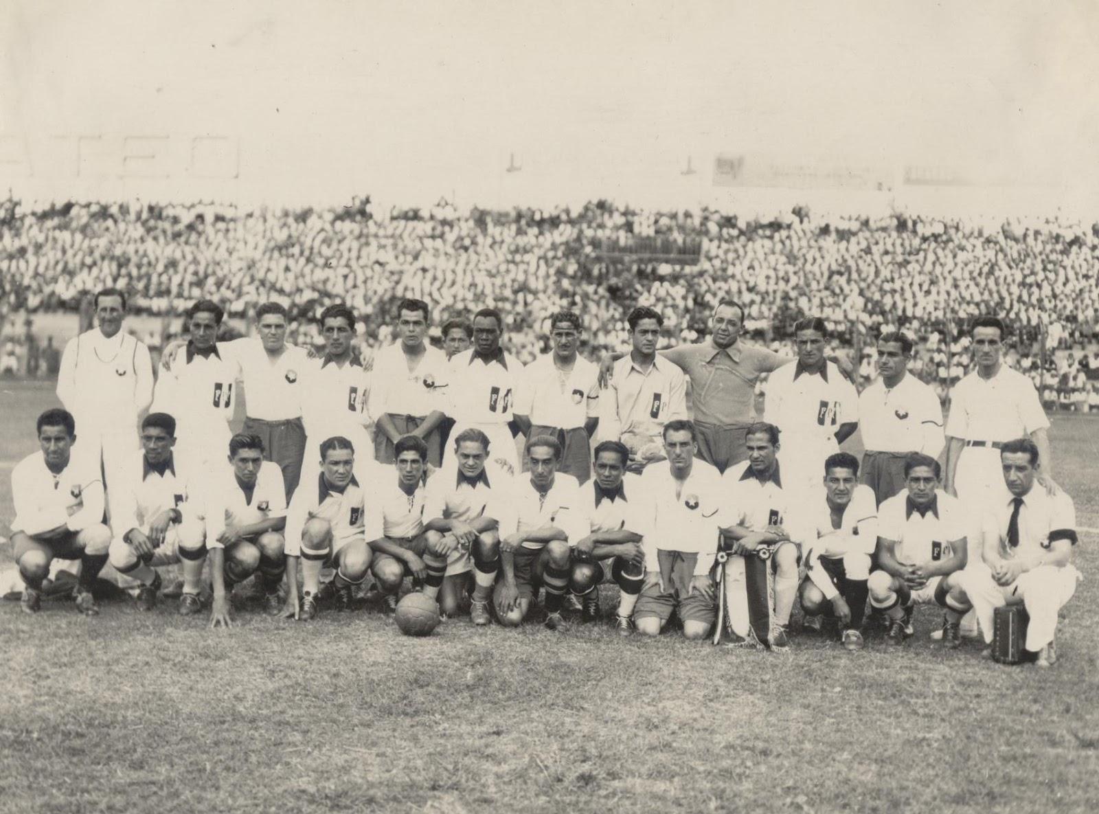 Perú y Chile en Campeonato Sudamericano de 1935, 26 de enero