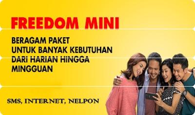 Daftar Paket Freedom Mini Indosat Ooredoo