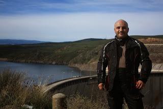 el viajero motero ruta en moto por Patones de Arriba Embalse del Atazar