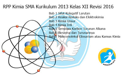 Download RPP Kimia SMA Kurikulum 2013 Kelas XII Revisi 2016