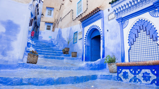 morocco chefchaouen blue city