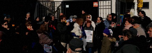 Flash mob per la stazione di Acilia Sud