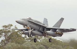 Jet Tempur F-18