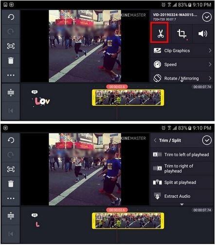 Memotong Video Menggunakan Kinemaster