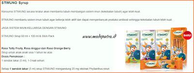 Stimuno untuk Balita - Stimuno Syrup
