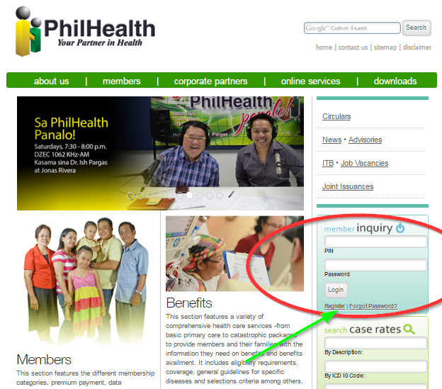 philhealth registration online