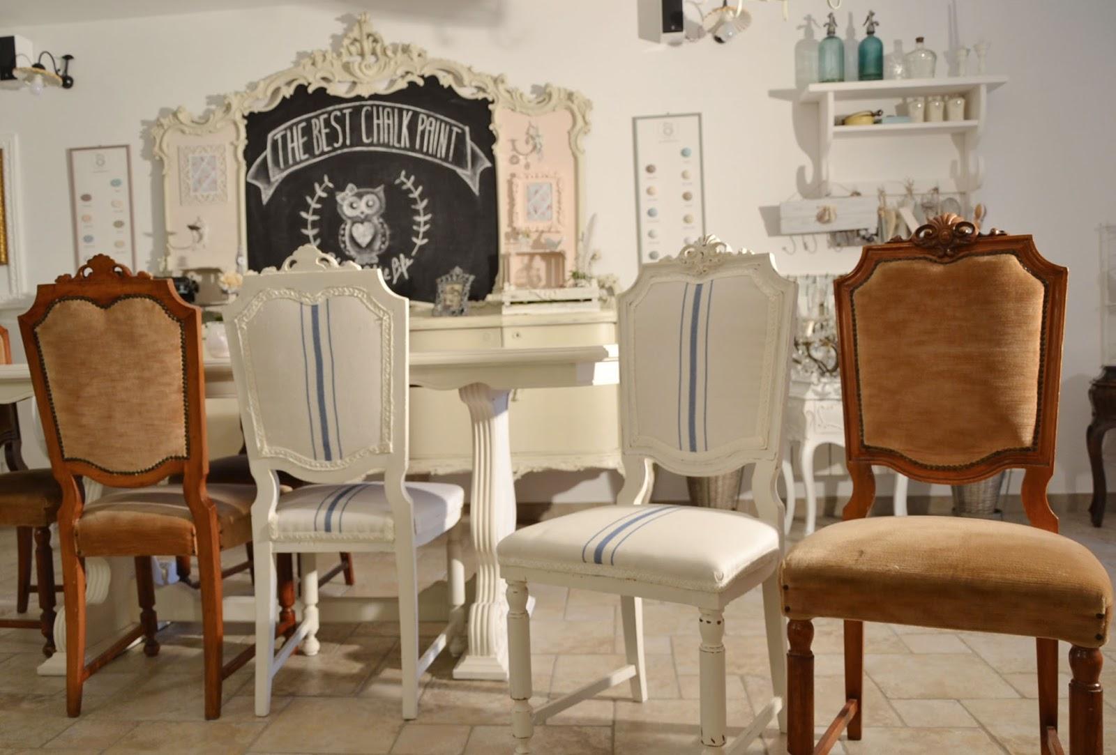 Sedie Shabby Chic Vendita : Sedie imbottite per il soggiorno made in italy qualità per il