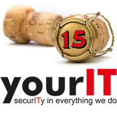 Logo 15 Jahre yourIT