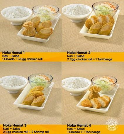 Pilih dan Pesan Aneka HokBen Delivery Menu - www.hokben.co.id