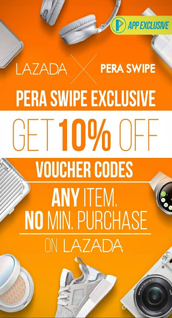 Learn how to get a discount and shop on Lazada through PERA SWIPE #lazadaXperaswipe