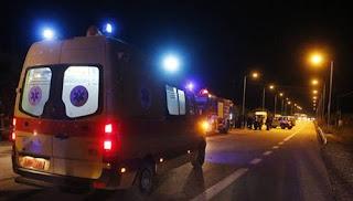 Εγνατία Οδός:Τροχαίο ατύχημα  λίγο μετά τα διόδια της Τύριας Στο νοσοκομείο πατέρας  και κόρη