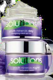 Creme de rosto dia e noite Avon Solutions Youth Minerals