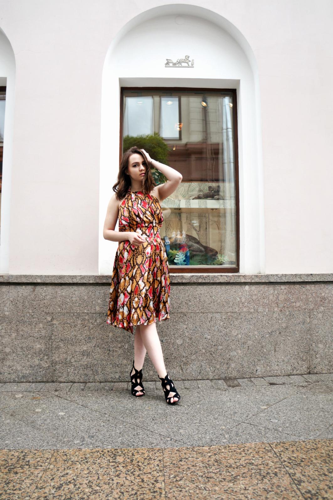 Print Dress | Alina Ermilova