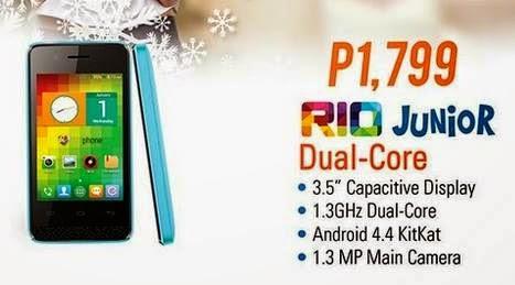 My Phone Rio Junior Specs