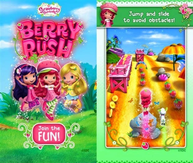 Strawberry Shortcake Rush, Game Android Populer 2015