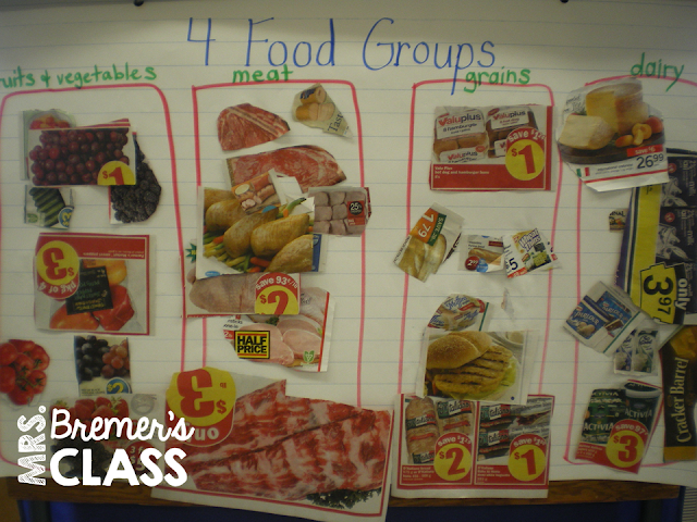 Food Group Lesson and Little Red Hen companion pack!