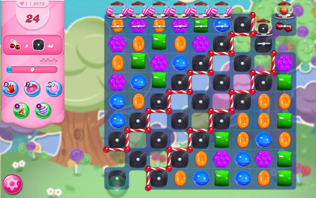 Candy Crush Saga level 6576