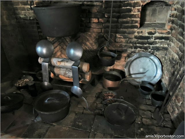 Cocina-The Witch House - The Jonathan Corwin House