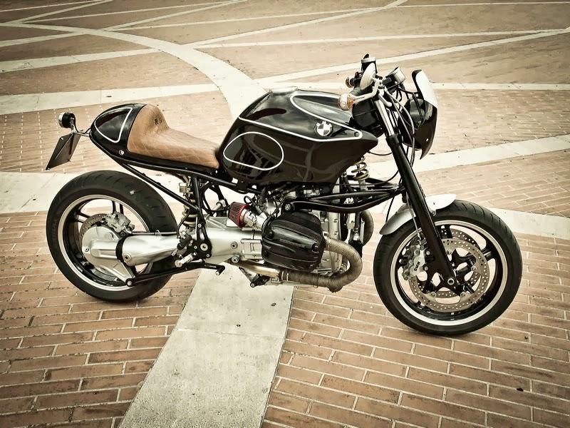 Bmw R1150r Cafe Racer Idée Dimage De Moto