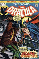 Tomb of Dracula #10 cover 1st appearance of Blade