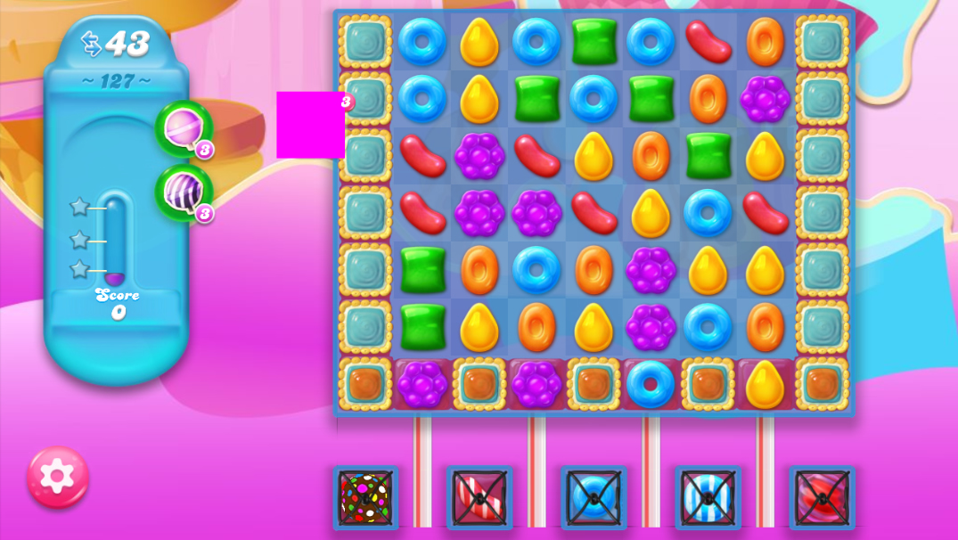Candy Crush Jelly Saga 127